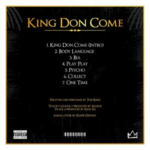 EP: Toss King - King Don Come | @tosskingF