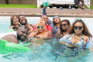 Check Out Photos of your Faves at Waje's 40th Birthday Beach Bash
