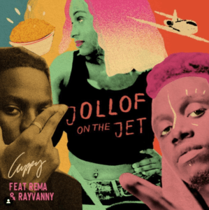 Video: DJ Cuppy ft. Rema x Rayvanny — Jollof On The Jet