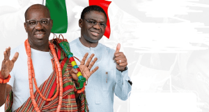 BREAKING NEWS: Godwin Obaseki has emerged as the winner of 19 September Governorship election of Edo state