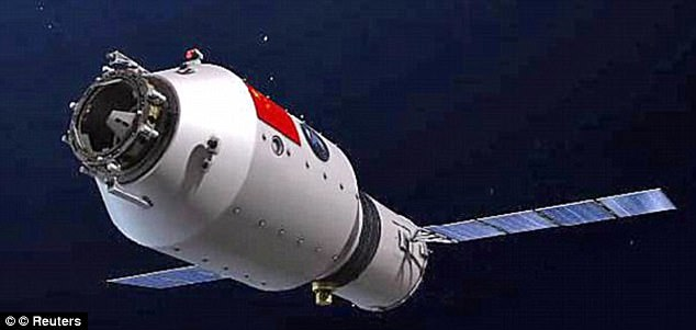 China's Out-Of-Control Space Station Will CrashTo Earth Within Months (Photos)