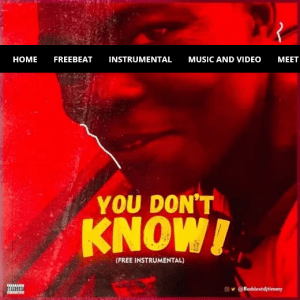 Download Freebeat:- Baddest DJ Timmy – You Don't Know