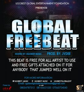 UgobestMusic Presents Global Free Beat For All Artistes To Use Produced By Jvdee