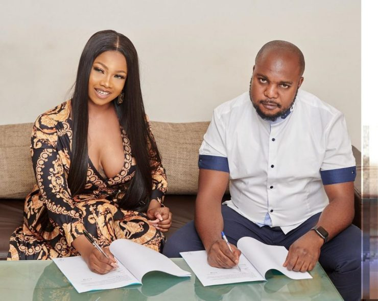 Tacha Becomes Face Of Royal Hair, Signs Ambassadorial Deal 11