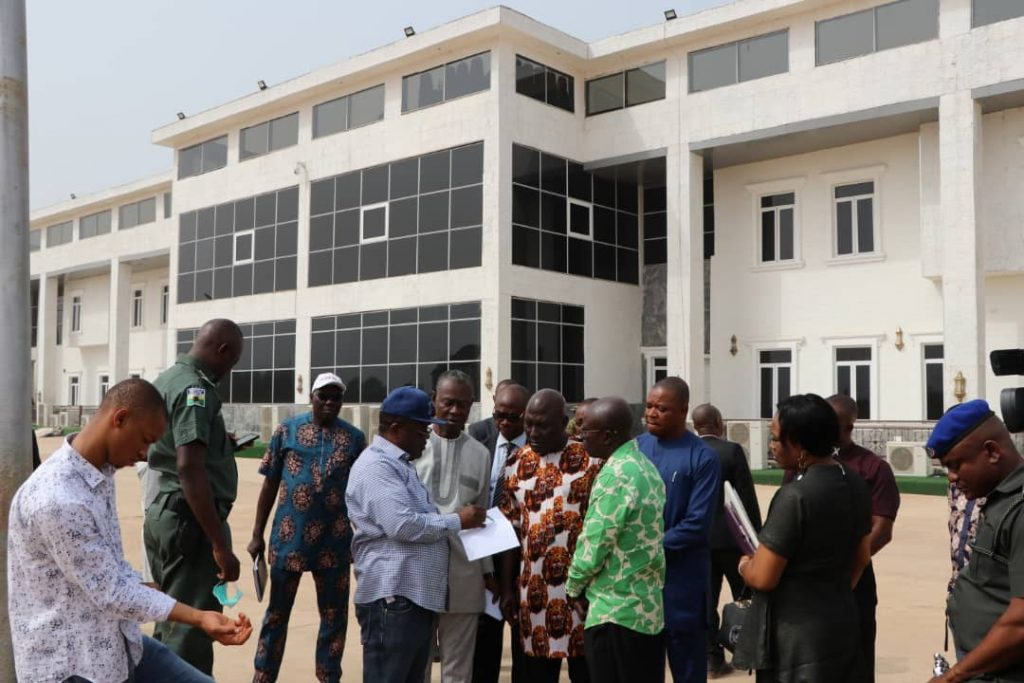 New Ebonyi State Government House Set To Be Completed (Photos)