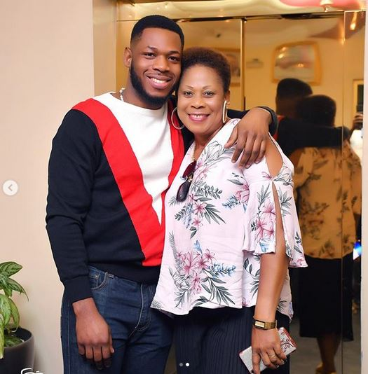 BBNaija Star, Frodd Shows Off His Beautiful Mum To Celebrate Her 50th Birthday (Photos) 9