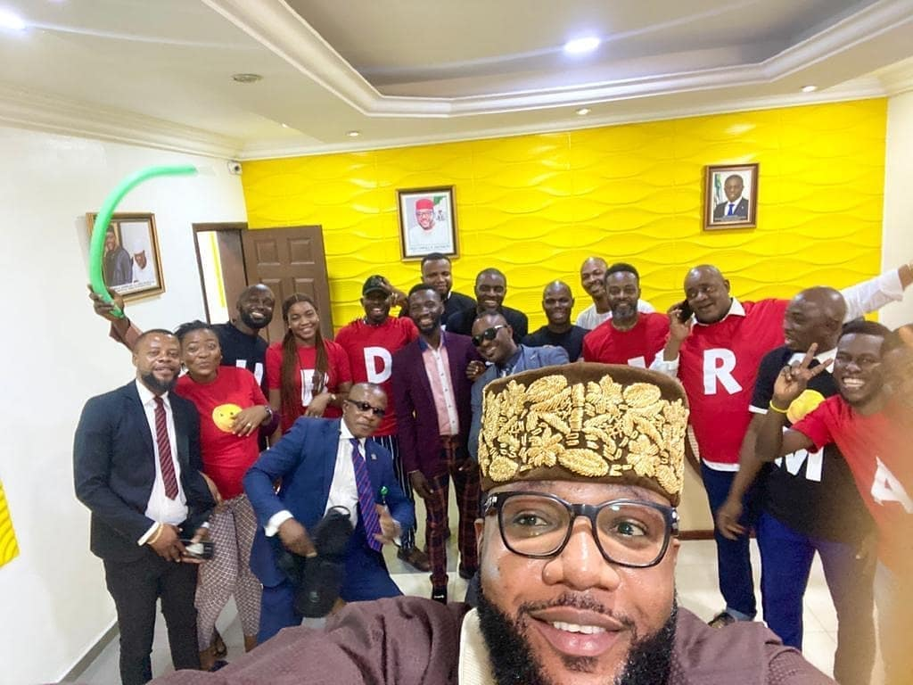 E-money Gifts Cars To His Employees To Mark His 39th Birthday (See Photos)
