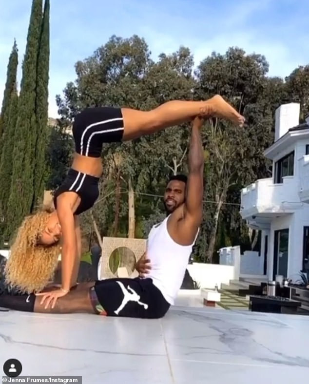 Jason Derulo Reportedly Dating Manchester United Player Jesse Lingard's Ex-Girlfriend, Jena Frumes, With The Two Self-Isolating Together In LA (Photos) 16