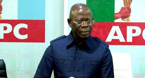 Giadom Wants To Kill APC As They Did In Rivers – Oshiomole