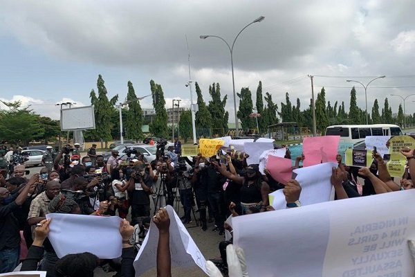 Protests Rock Lagos, Abuja Over Rising R*pe Cases, Sexual Assault Against Women (Photos) 4