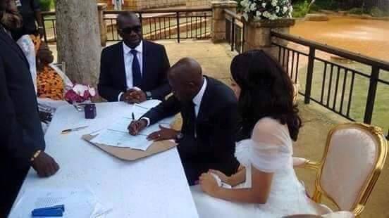Obaseki Was Oshiomhole's Best Man At His Wedding To Iara (Throwback Photos) 2