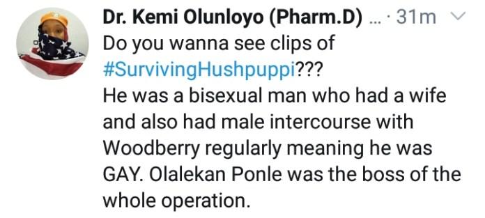 """Bisexual Hushpuppi Was Sleeping With Gay, Woodberry"""" – Kemi Olunloyo 2"""