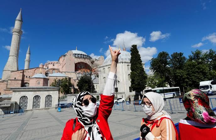 Erdogan declares Hagia Sophia a mosque after Turkish court ruling 2