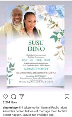 Dino Melaye: I Am Not Getting Married On 28th December 2020 (Picture)