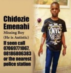 Photo Of 10-year-old Autistic Boy Declared Missing in Lagos