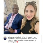 """It Has Been 10 Beautiful Years"" – Ned Nwoko Celebrates Moroccan Wife, Laila Ahead of Her 30th Birthday"
