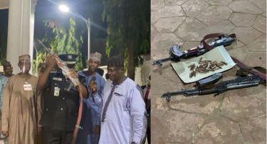 Three Bandits Surrender AK-47 Rifles, Live Ammunitions In Zamfara