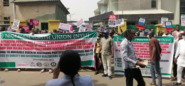 Youths Shut Down Nigeria Governors' Forum Headquarters In Protest
