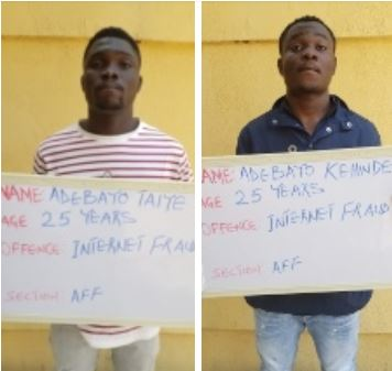 Twin Brothers Jailed For Internet Fraud In Kwara