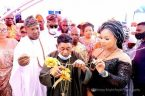 Alaafin Of Oyo Gifts Wife, Omowumi A New House