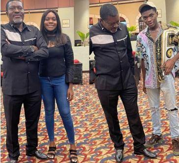 Actor, Kanayo O. Kanayo Shares Photos of His Children As He Celebrates Them On Their Birthday