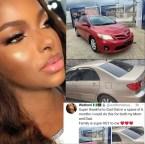 Wathoni Anyasi Buys 2 Cars For Her Parents (Photos)