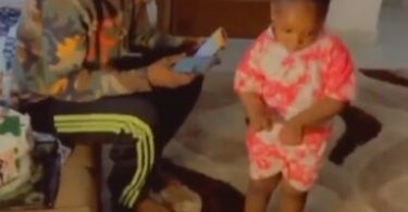 Exciting Moment Naira Marley Met 4-year-old Girl Who Went Viral After Dancing His Song