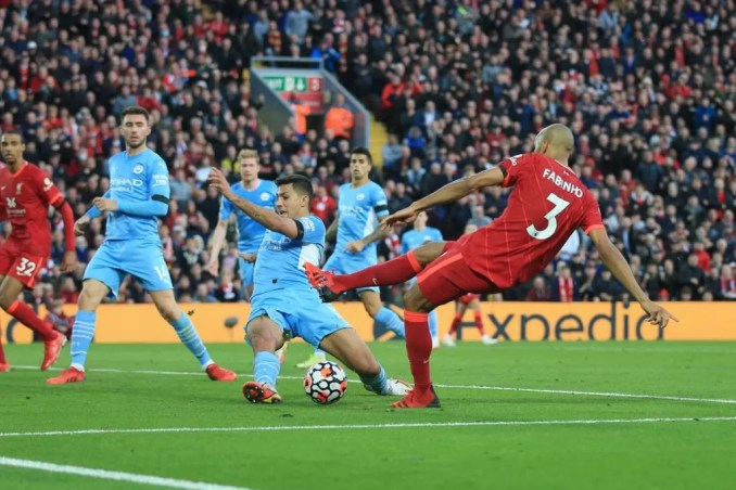 How I Denied Fabinho Late Minute Goal For Liverpool -Rodri