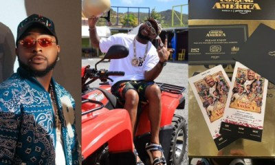 Davido Perform 'Assurance' In Coming To America 2