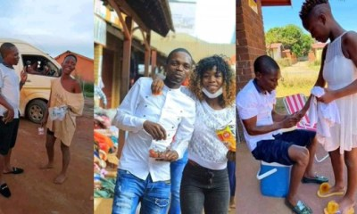 Man set to marry homeless lady
