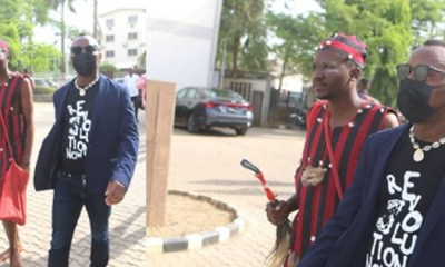 Native doctor follows Sowore to court