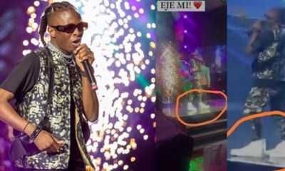 Why I Wore 'Big Shoes' To Headies – Laycon