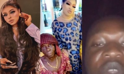 Bobrisky and Grandson of old woman