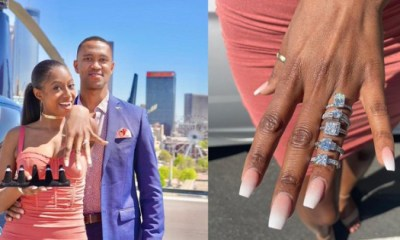 Man proposes to his girlfriend