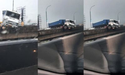 Nigerians react to a freak accident
