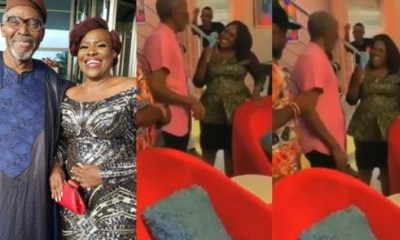 Olu Jacobs Paid A Visit To His Wife