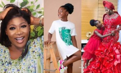 Mercy Johnson Daughter At The Educational Facility
