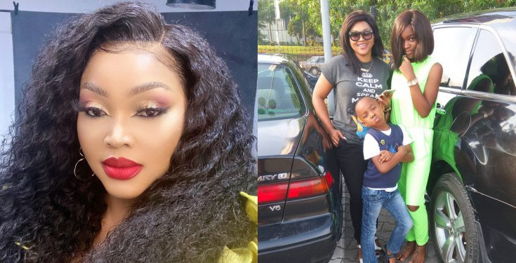 """""""Happy Father's Day to me and all single parents who play dual role"""" – Mercy Aigbe"""