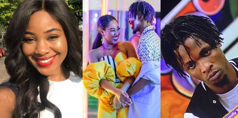 Nigerian reacts after Erica says she is Laycon's sole source of fame