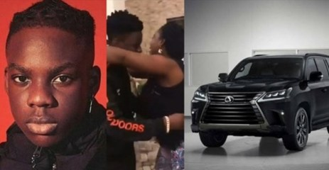 Watch the Video of Rema gifting his mom a car at the age of 17 before Don Jazzy signed him surfaces