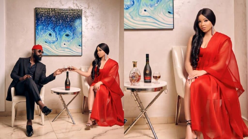 Nengi signs Endorsement deal with Remy Martin (Photos)