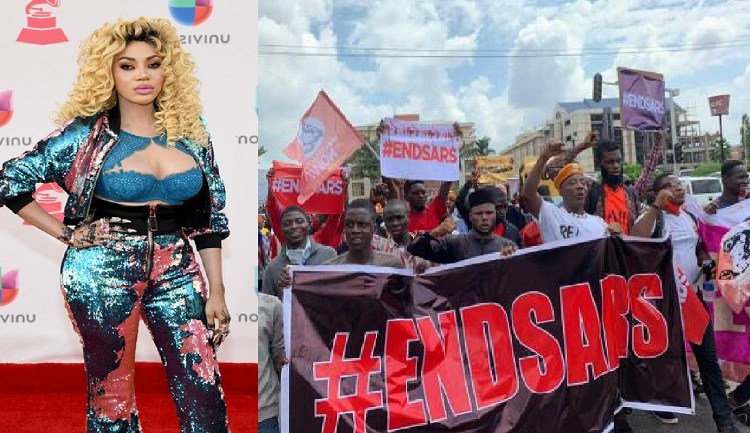 #EndSARs: Are you guys suic!dal – Singer, Dencia blasts protesters