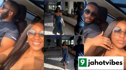 Watch the Beautiful moment Kiddwaya was spotted making video of Erica (video)