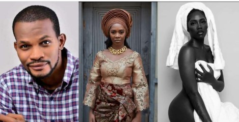 """""""Do you sometimes forget that you are a mom?"""" – Actor Uche Maduagwu berates Tiwa Savage over her unclad picture"""