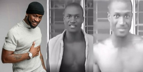 Peter Okoye Shares Throwback Video Of Himself During His Days As UniAbuja When He Contested For Mr Campus in 1997 (Video)