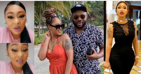 """Rosy Meurer finally reacts to allegations she """"snatched"""" Tonto Dikeh's ex husband, Olakunle Churchill (video)"""