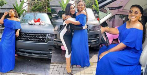"""Actress Mercy Aigbe And Friend Flaunts Their Range Rovers As They Unveil The """"Range Rover Geng"""""""