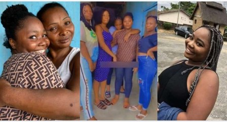 'She went to collect prick' – Nigerians allege as missing UNICROSS student returns home, reunites with mom