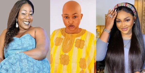 Ada Ameh, Kunle Afod, others react to actress, Mercy Aigbe's latest achievement