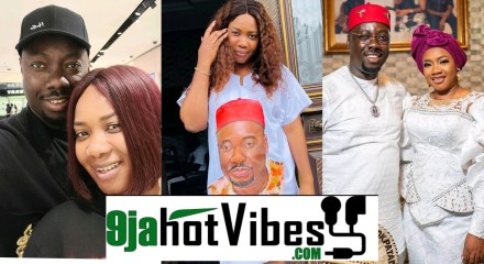My Husband Is Not A Ritualist, He Is Filled With God's Grace - Obi Cubana Wife Defends Him
